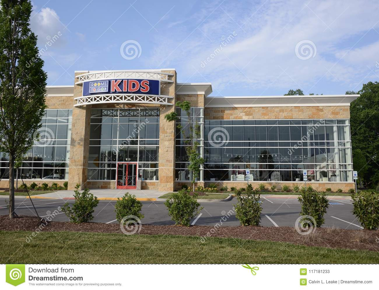 Rooms To Go Kids Childrens Furniture Store Editorial Stock Photo