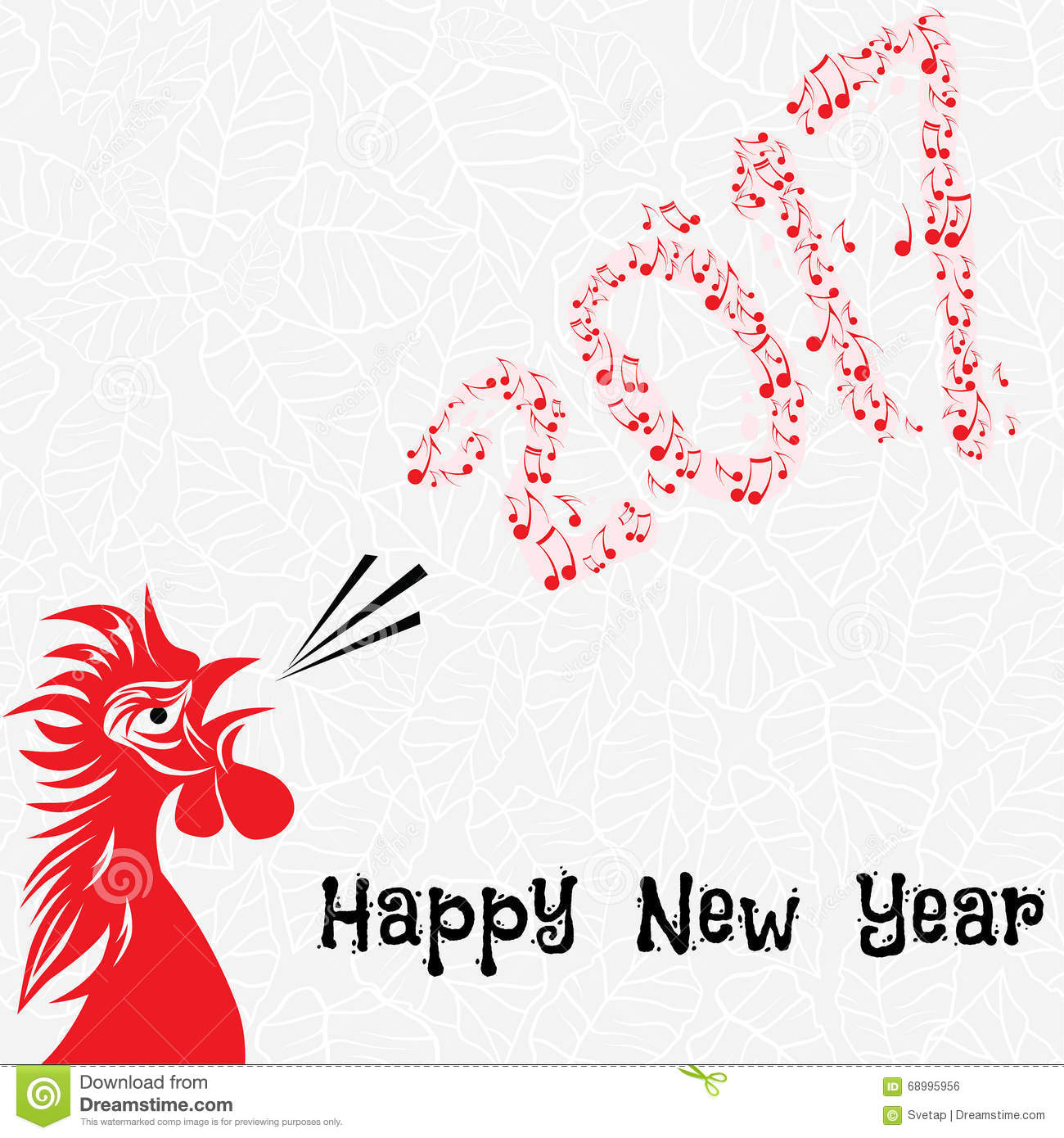 Chinese Calendar Illustration : Rooster sketch royalty free stock photo cartoondealer
