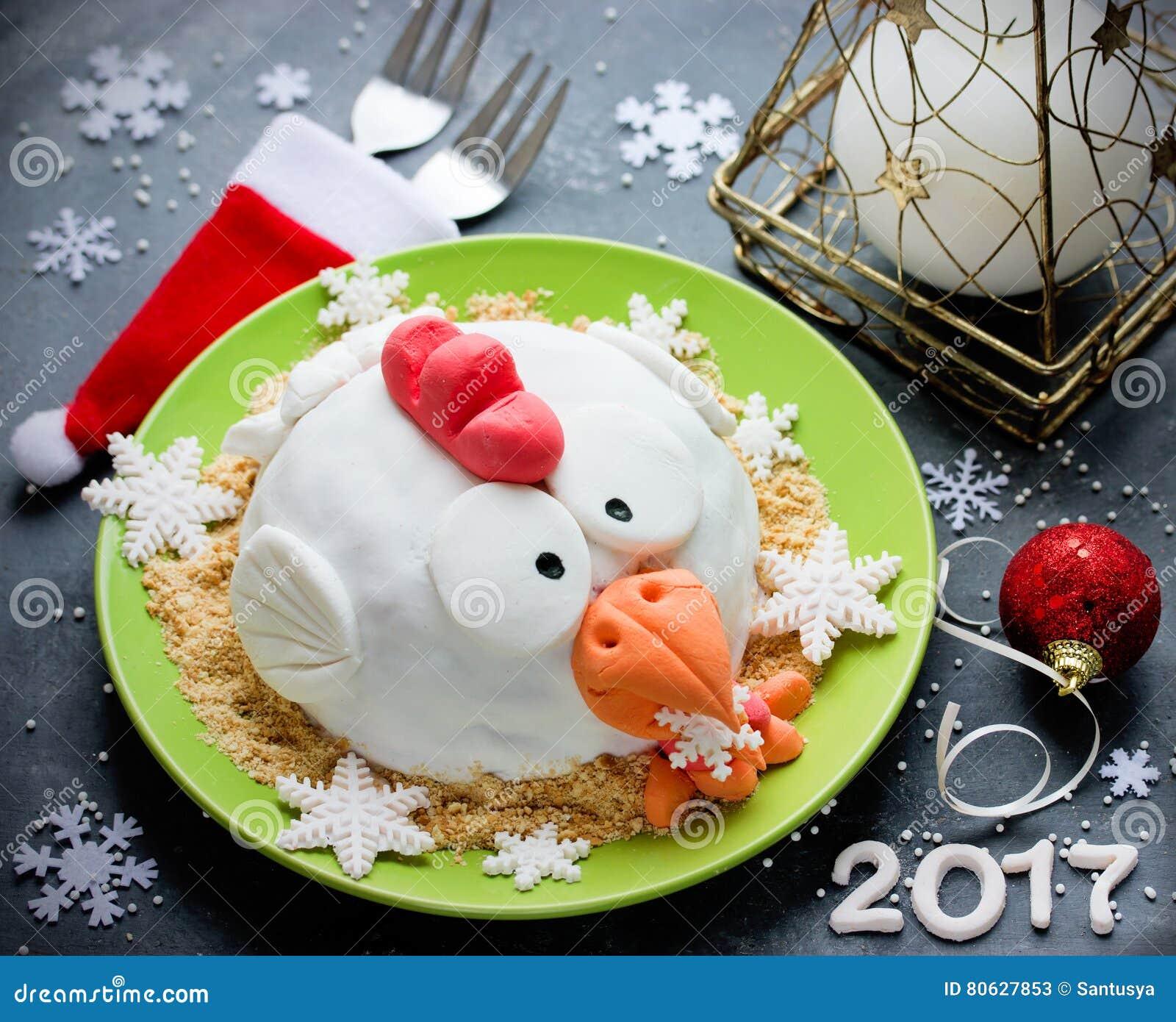 rooster cake cake hen cake chicken cake bird cake fe stock