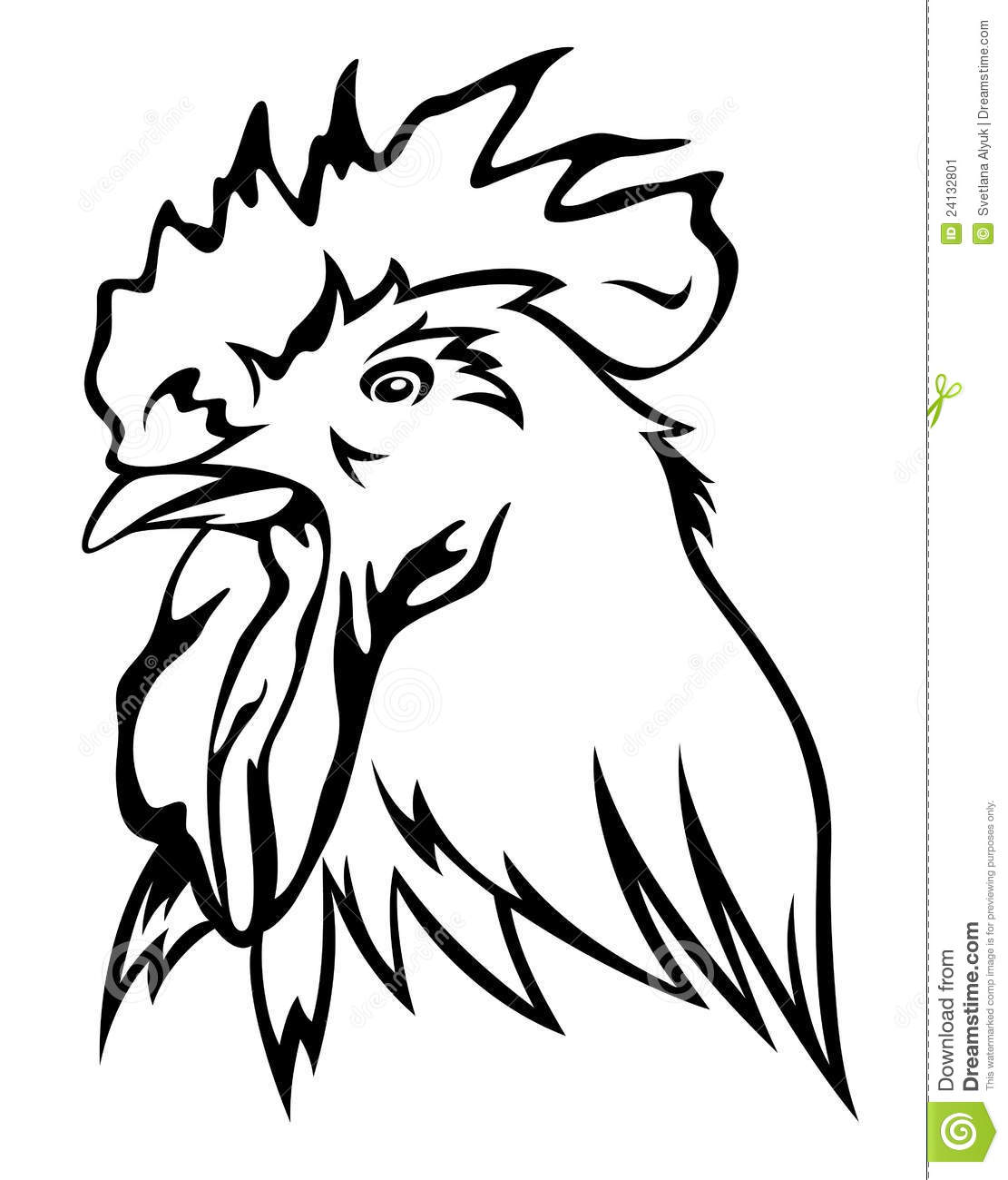 Rooster Vector Stock I...