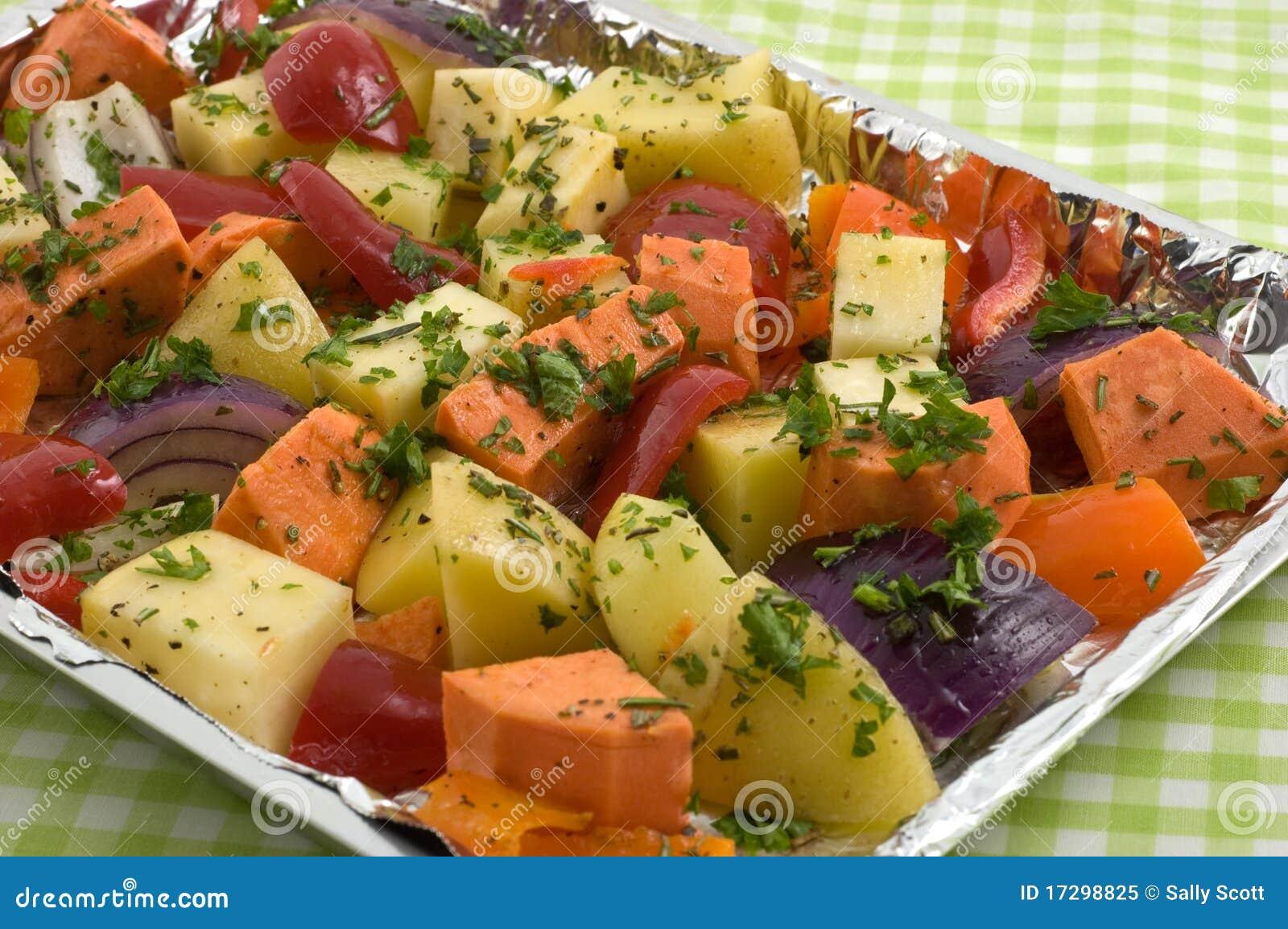 Roosterende groenten