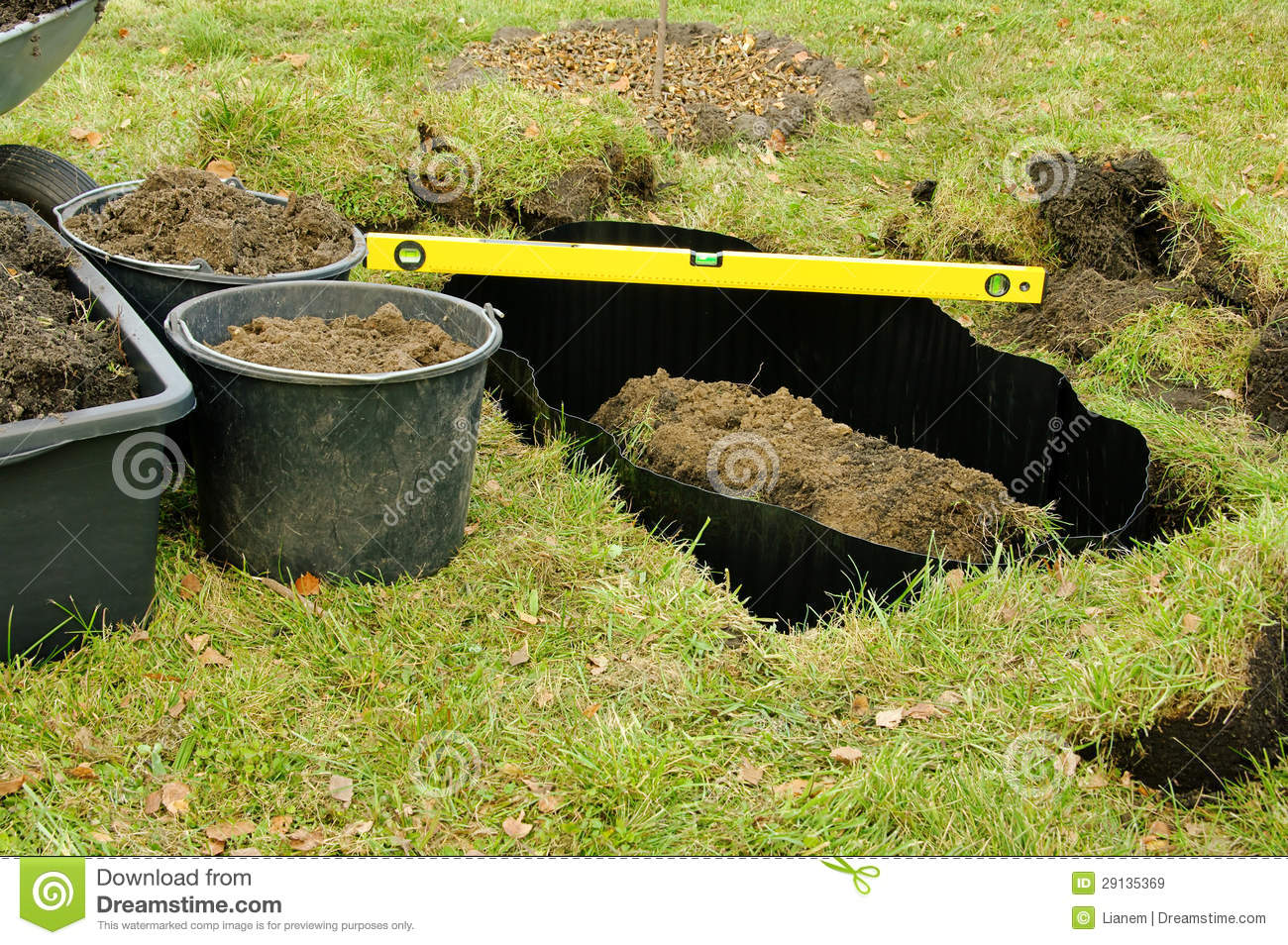 Root Barrier Royalty Free Stock Images Image 29135369