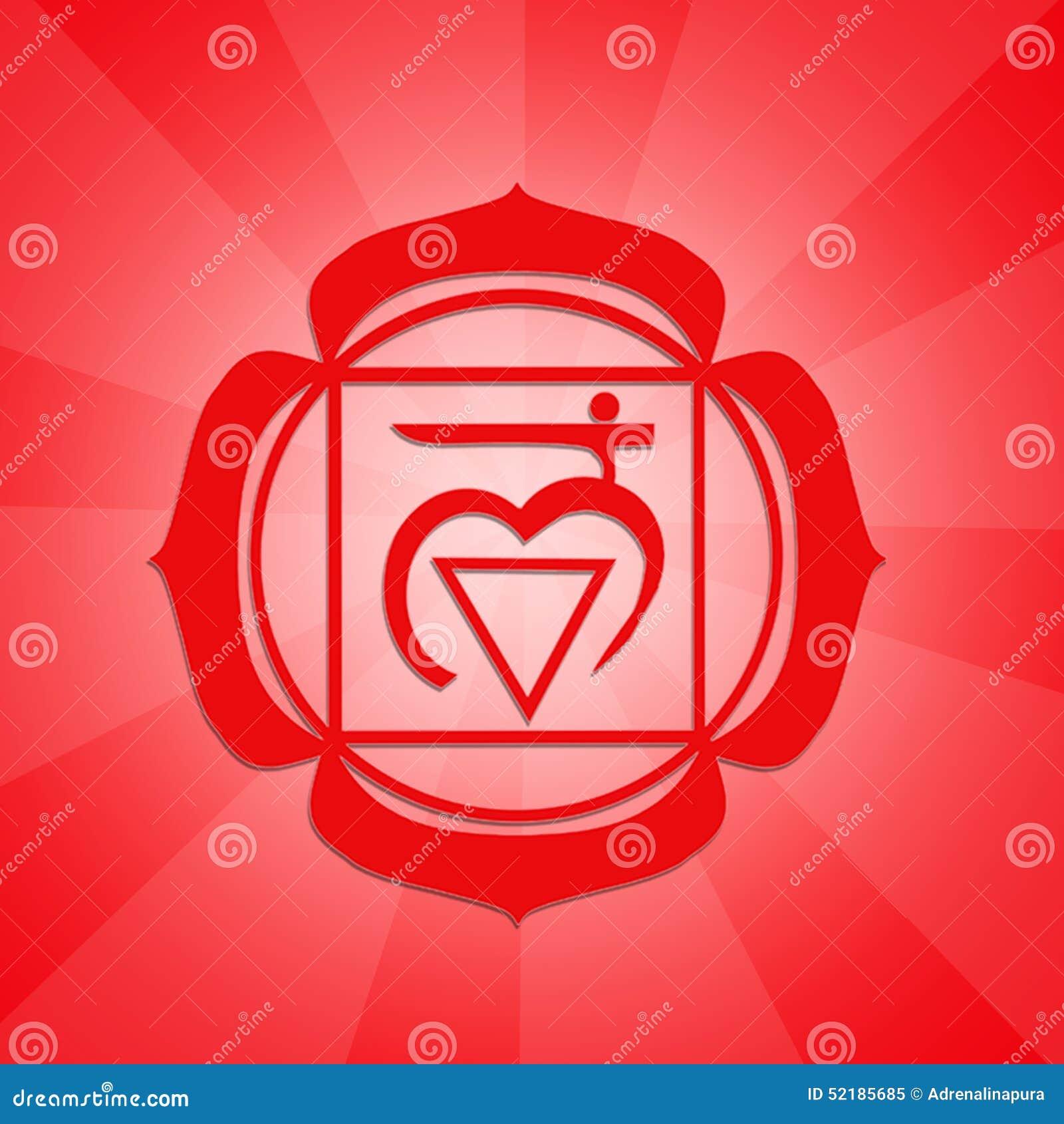 Root Chakra Symbol Stock Illustration Illustration Of Swadhisthana