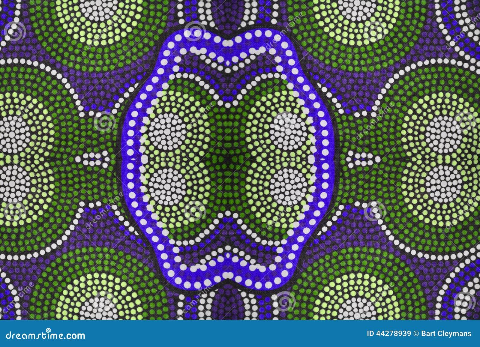 Ropa aborigen detalladamente