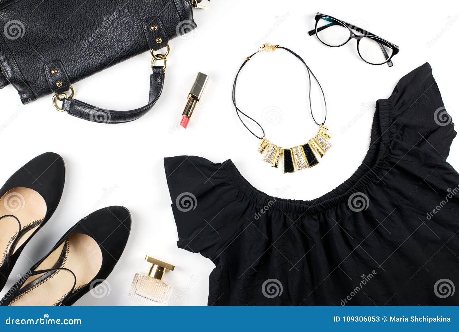 Ropa De La Mujer Y Complementos Mirada Negra Total Vestido