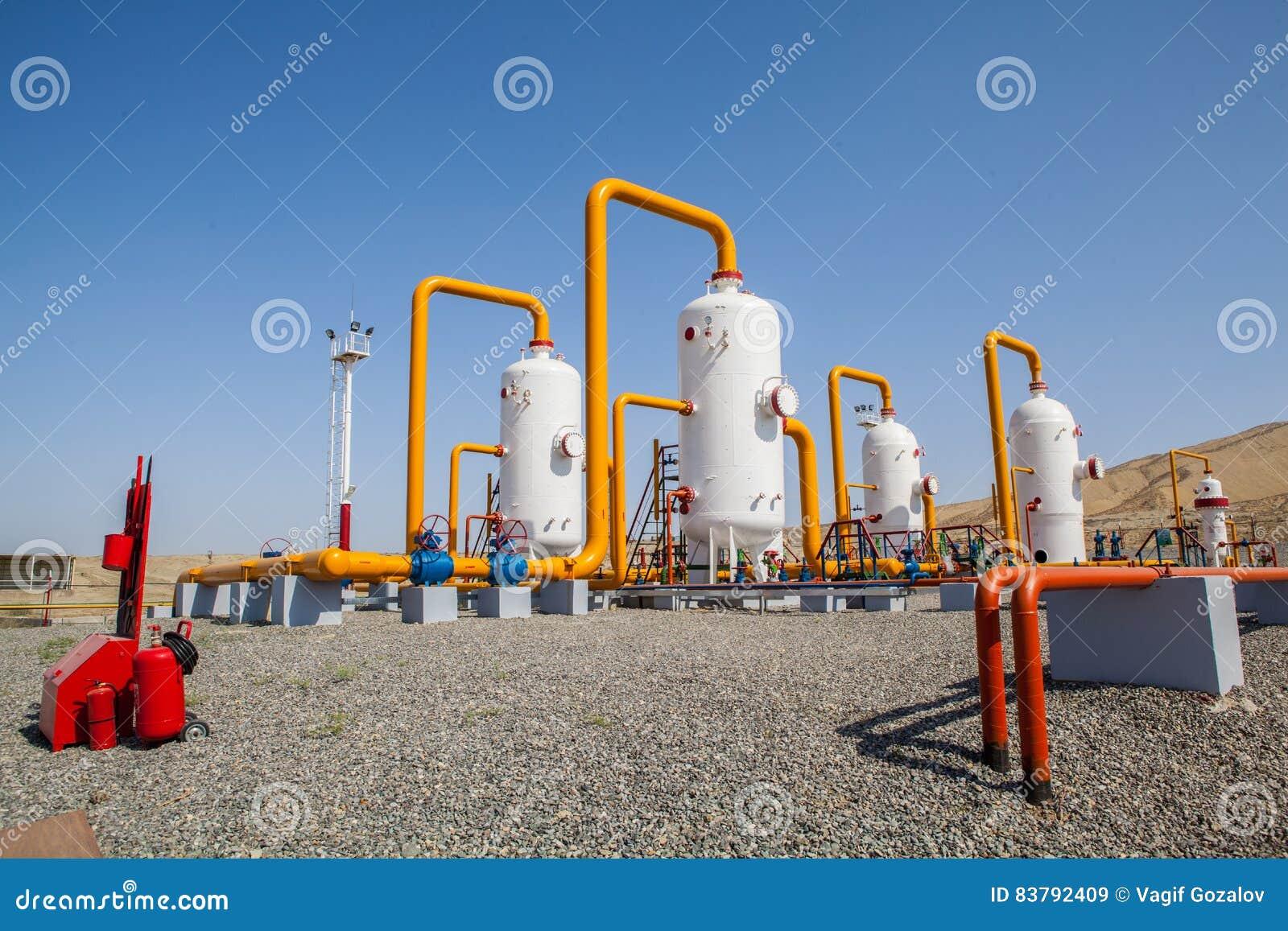Ropa i gaz refinator kompresor