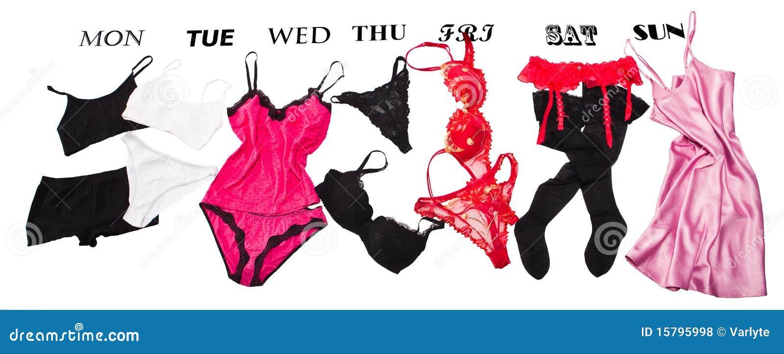 Fotos de archivo libres de regalías Ropa interior femenina para cada