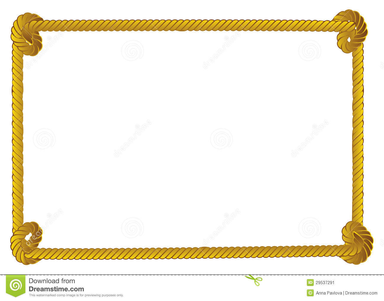 rope border stock vector image of equipment  background 29537291 rope border vector art free rope border vector art free