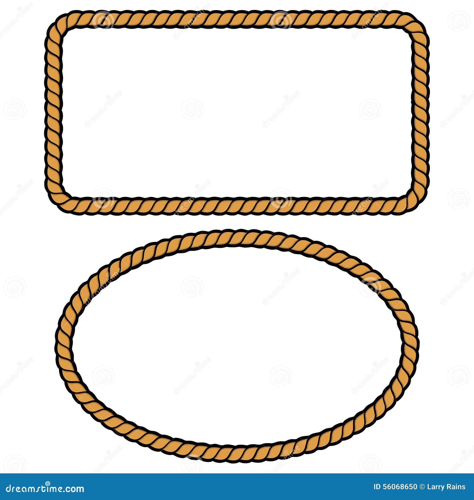 rope border illustations stock vector illustration of cord 56068650 rh dreamstime com rope vector art rope vector eps