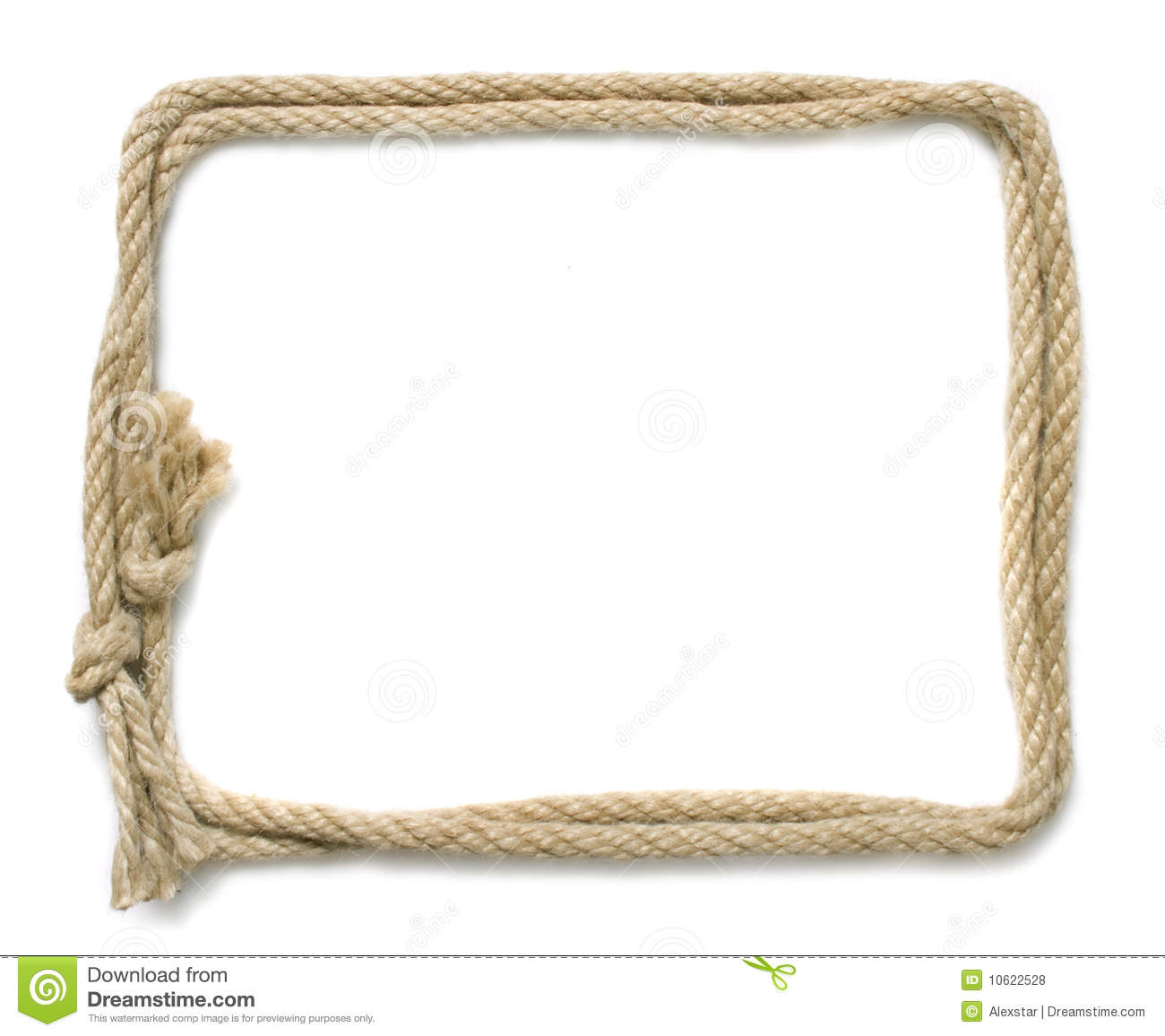 Rope frame royalty free stock photos image 10622528 Rope photo frame