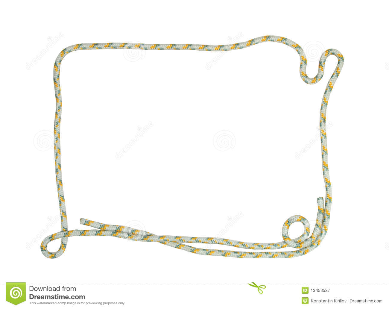 Rope frame royalty free stock photography image 13453527 Rope photo frame