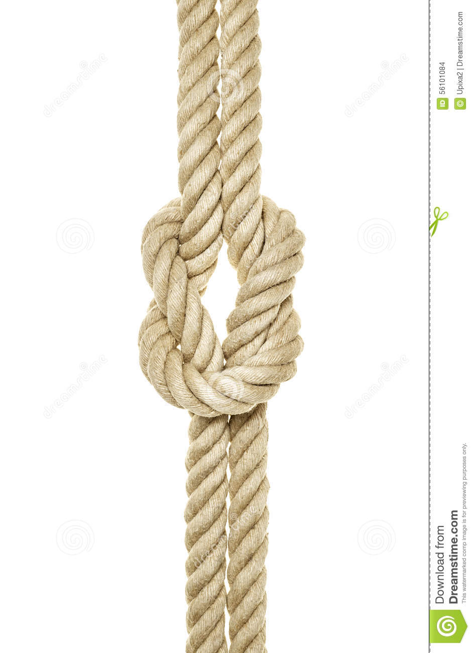 Knitting Knots Rolde : Rope knot reef stock photo image of knitting