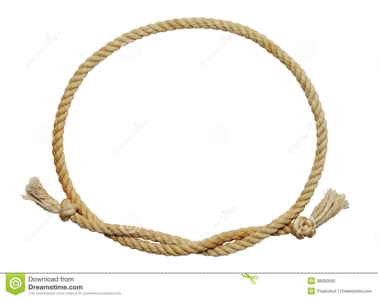Lasso frame the image kid has it Rope photo frame