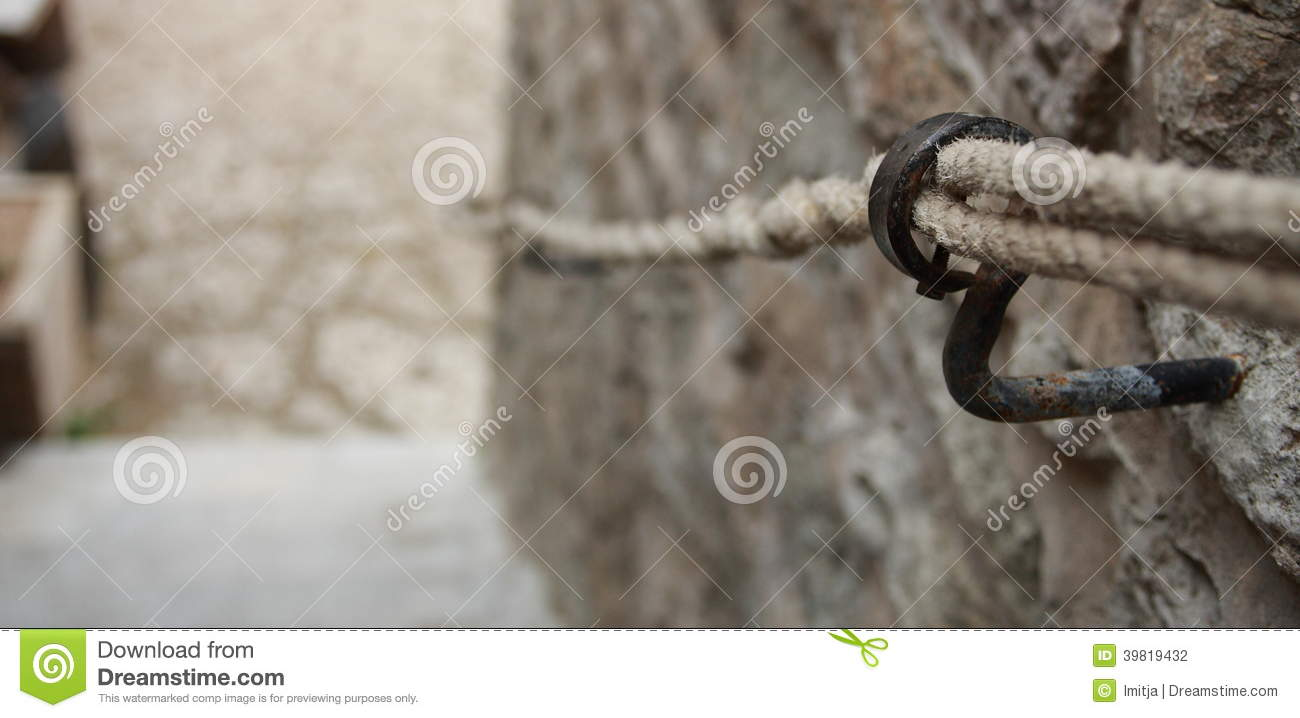 Rope Railings Stock Photo Image Of Background Iron 39819432