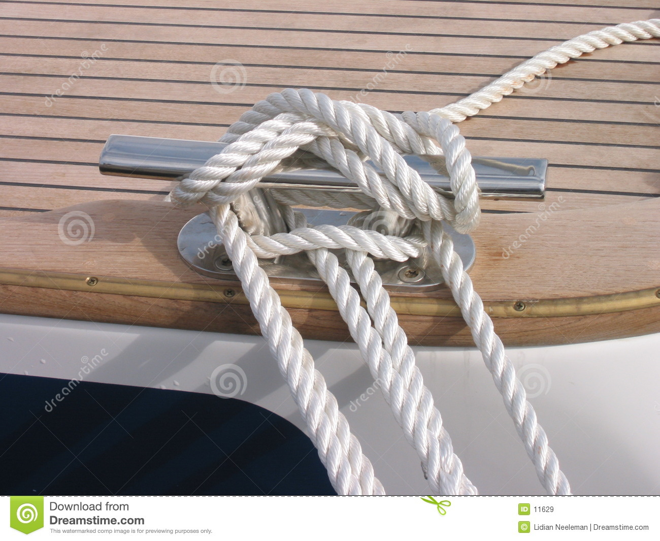 Rope Of Sailing-boat Royalty Free Stock Images - Image: 11629