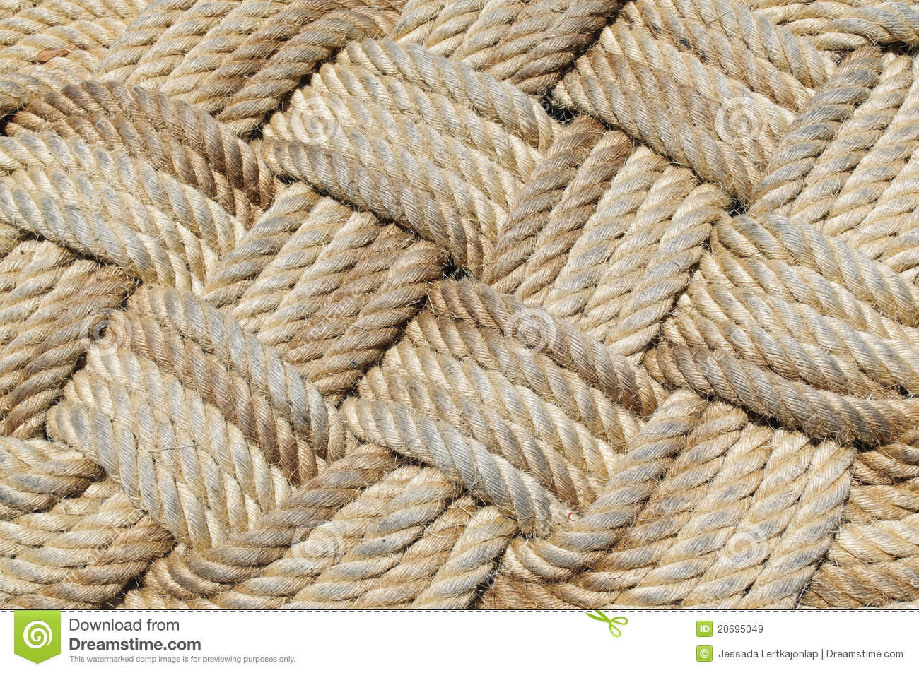 How To Weave A Basket With Rope : Rope weave royalty free stock images image