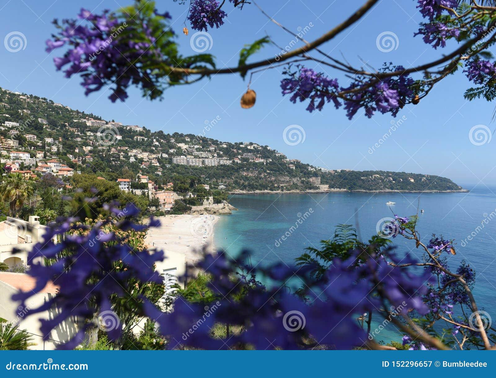 Roquebrune-Kappe-Martin, Provence-Alpes-Taubenschlag d 'Azur, Frankreich Cote d Azur von französischem Riviera