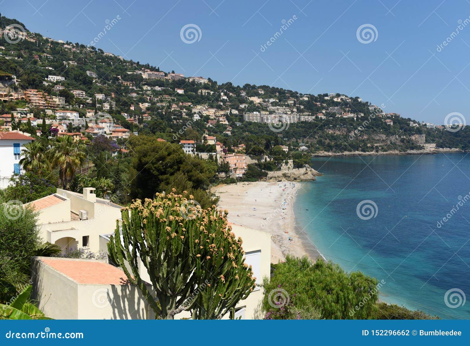 Roquebrune-Lock-svala Provence-Alpes-skjul D 'Azur, Frankrike Cote d Azur av franska Riviera