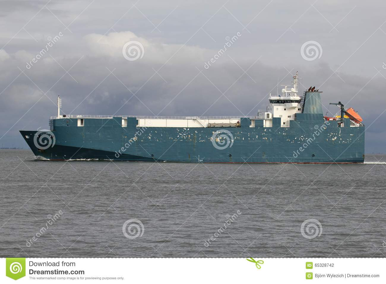 RoRo Vessel stock photo  Image of motor, foreign, trade