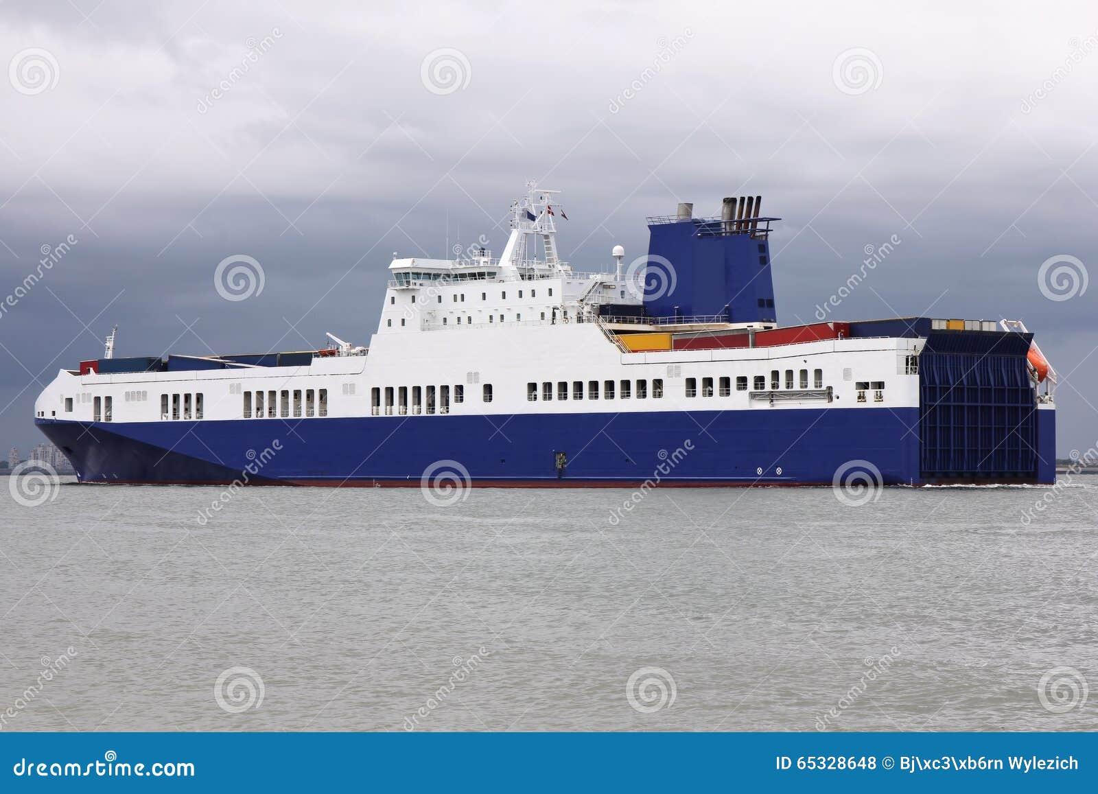 RoRo Vessel stock photo  Image of oceangoing, navigation