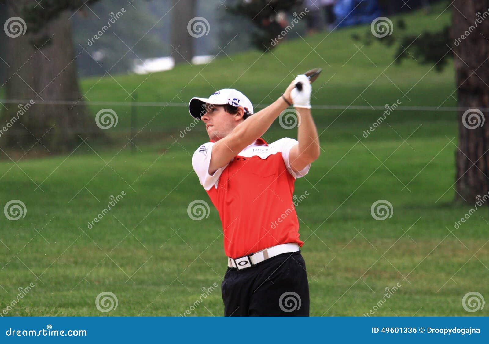 Rory Mcilroy Pga Pro Editorial Photo Image Of Exercising