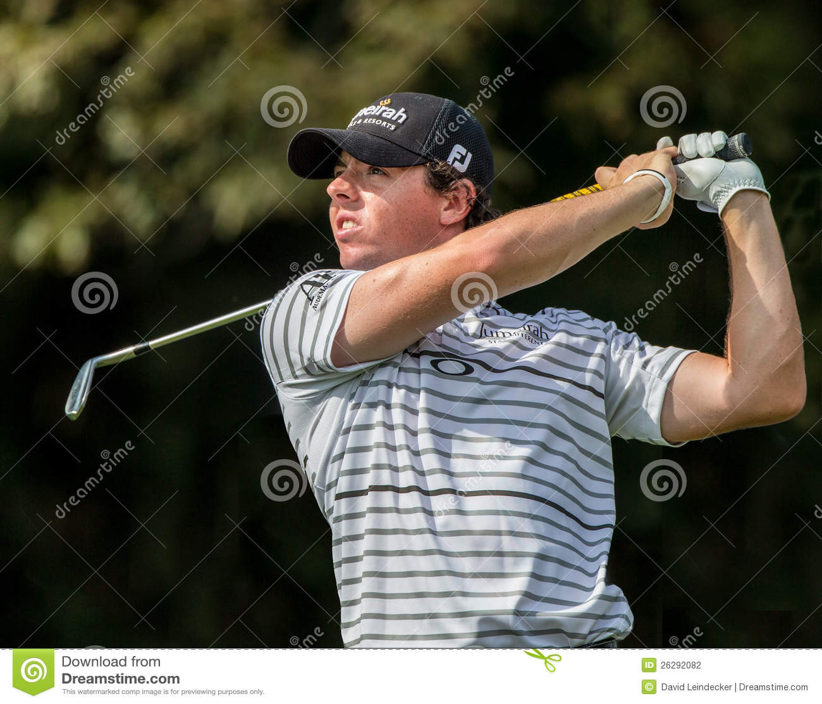 Rory przy Barclays mcIlroy 2012
