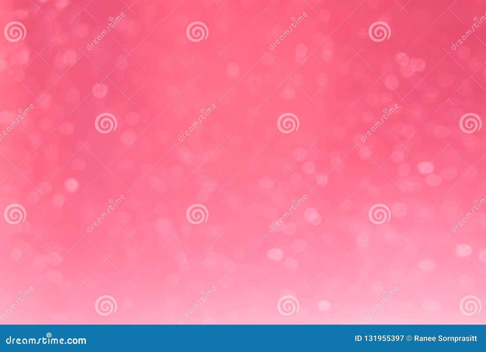 Rosa bokeh för bakgrund