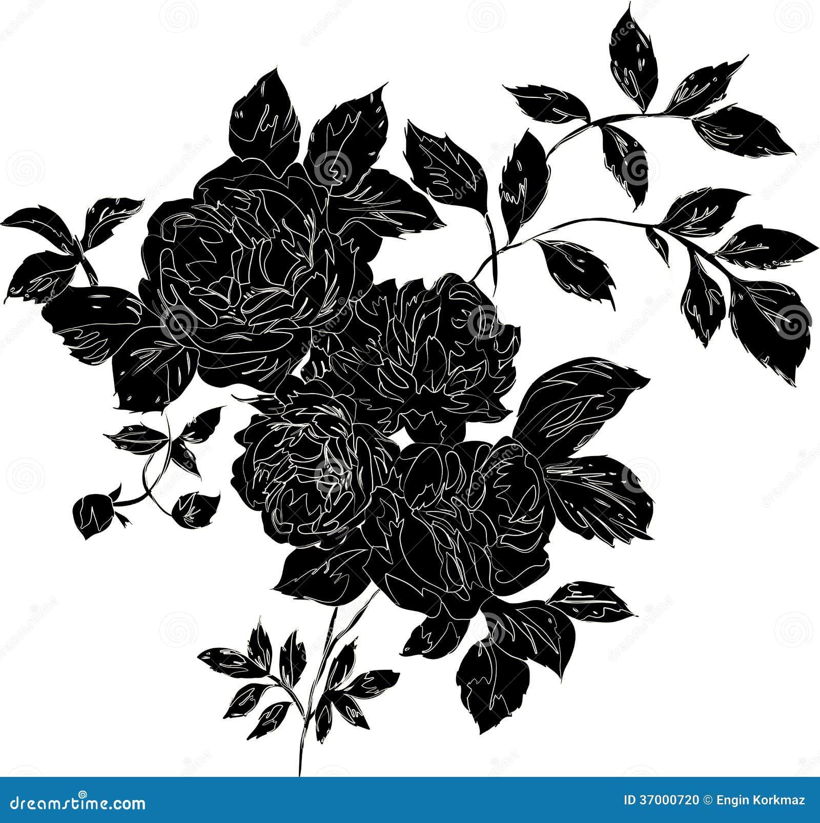 Rosa del negro