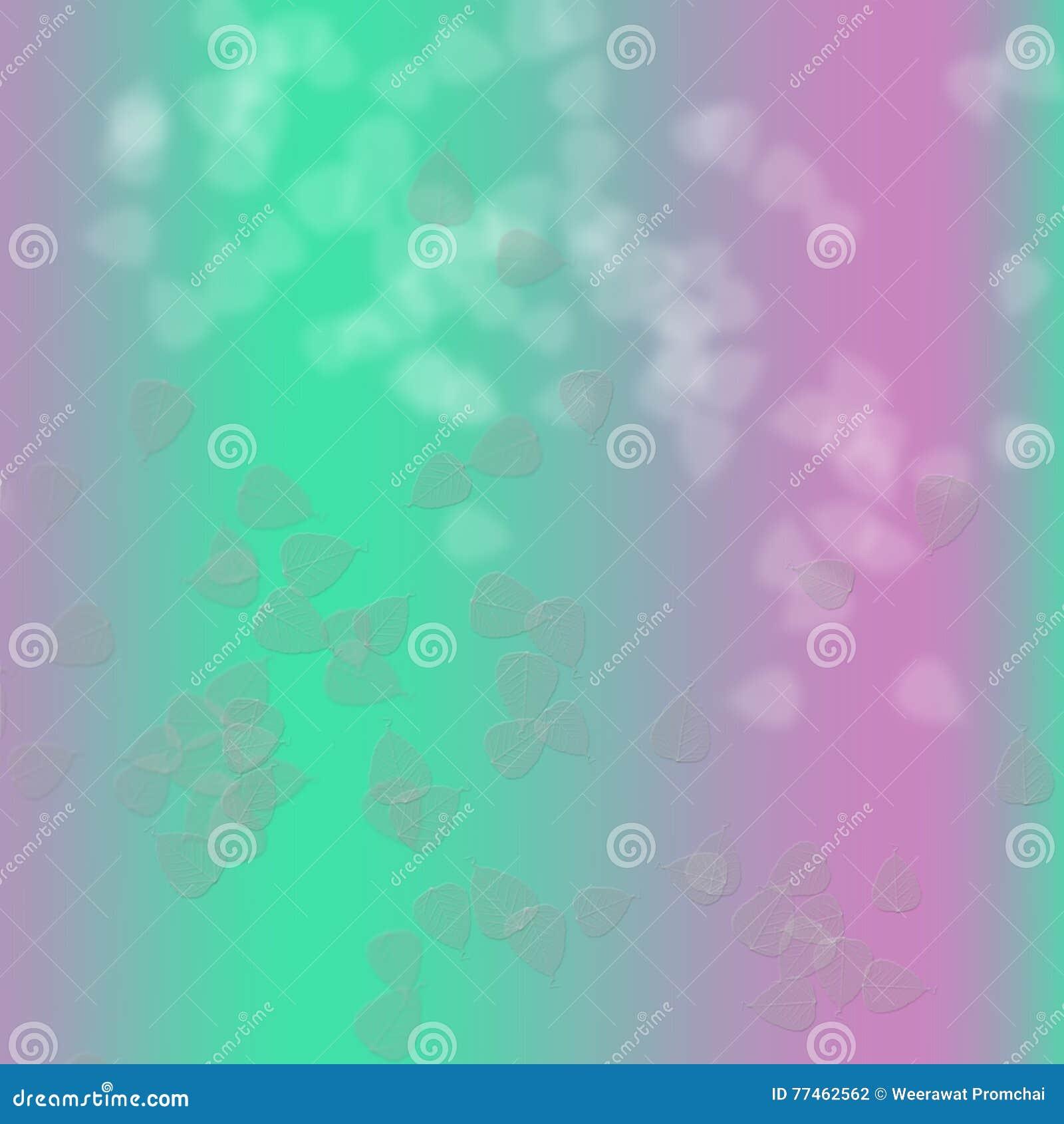 Rosa e verde nel fondo astratto
