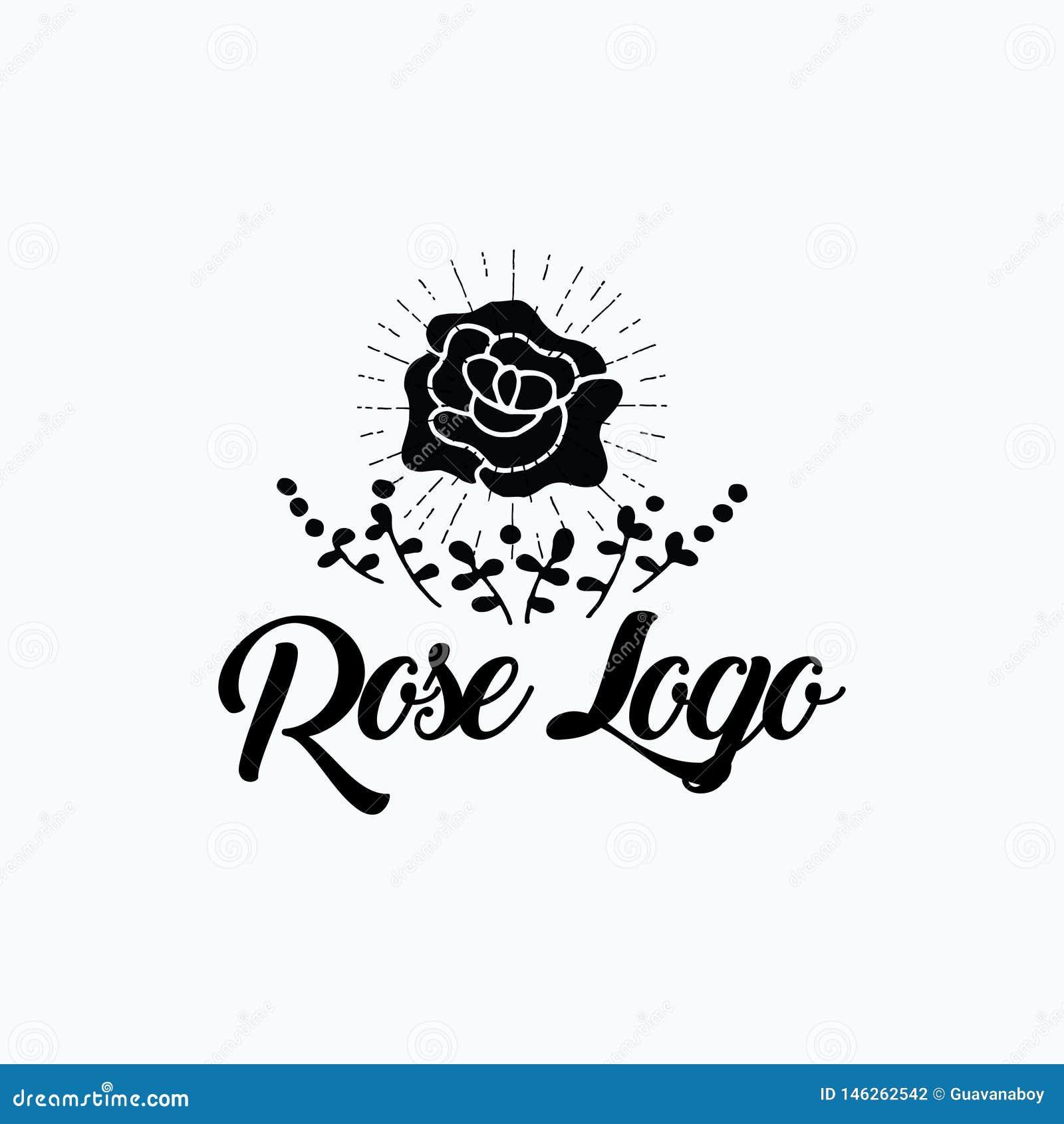 Rosa estourou a arte finala do projeto do logotipo
