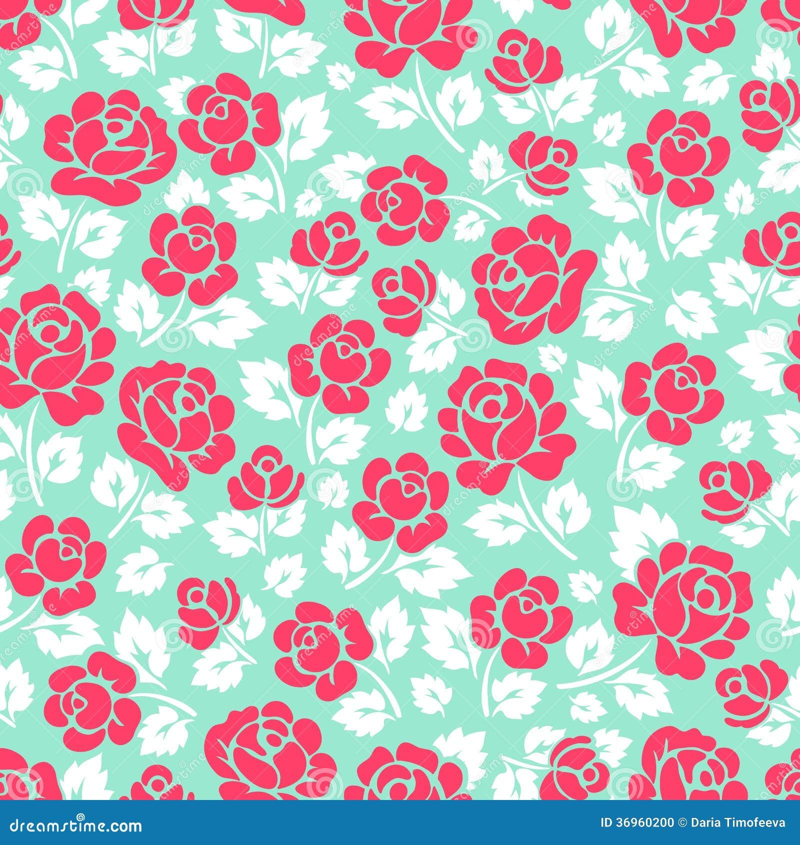 Rosa färgros- och vitsidor