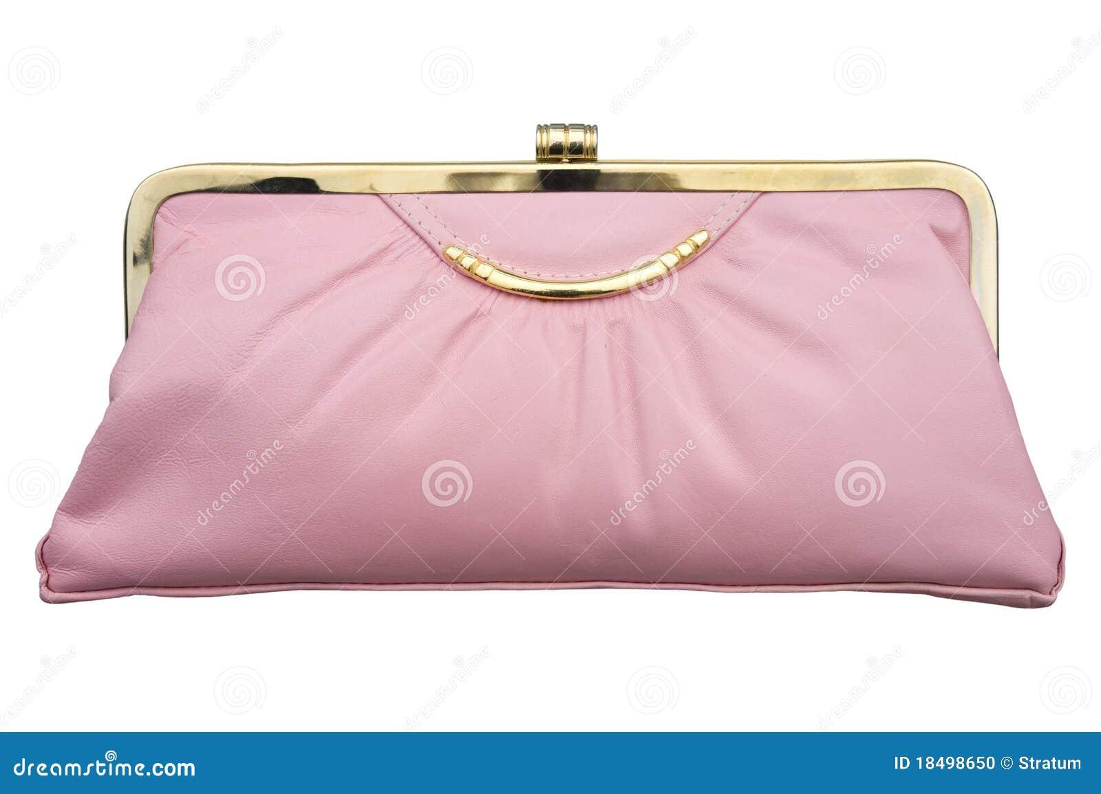 Rosa handväska