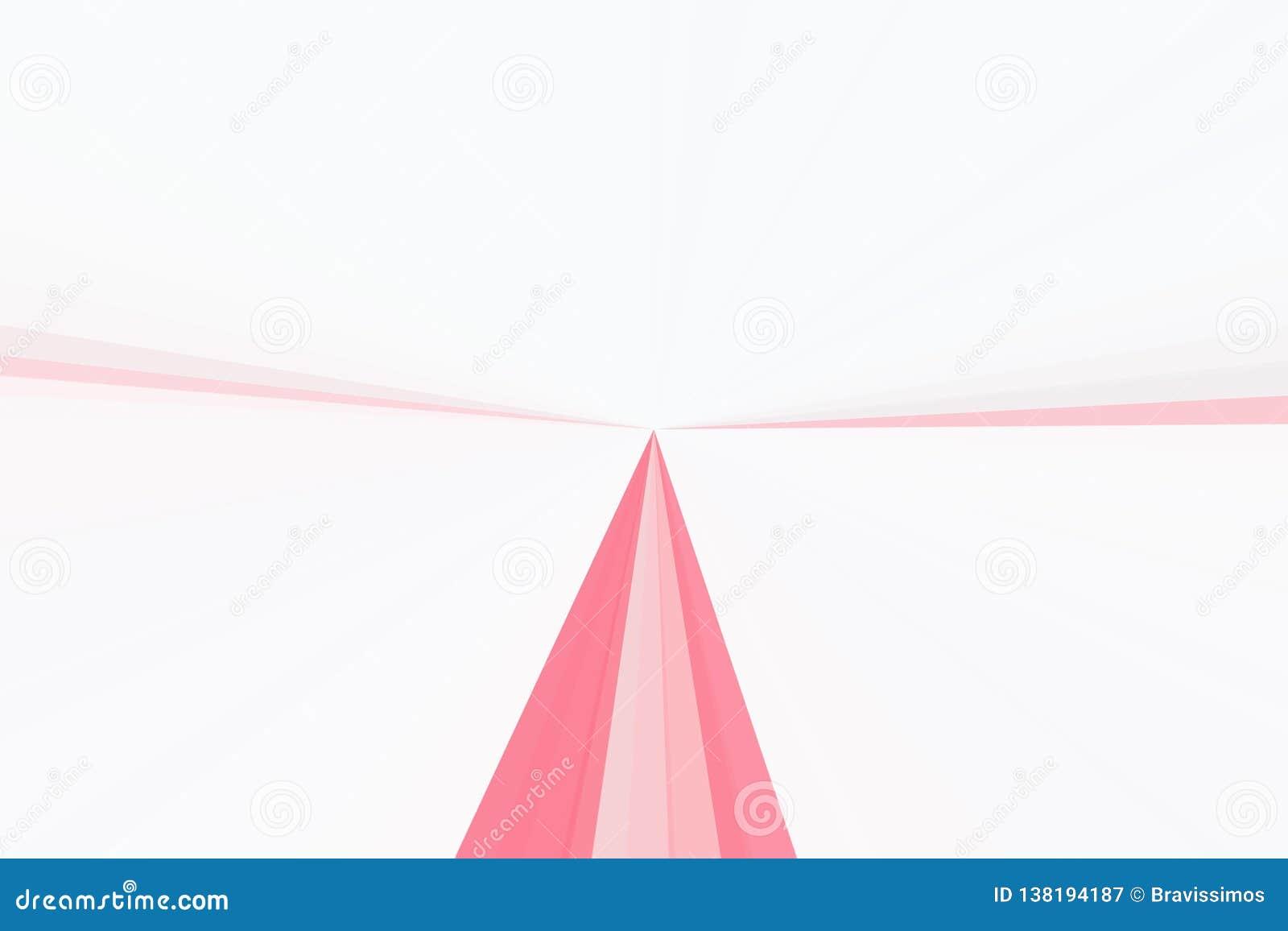 Rosa ljus för bakgrundsstrålstråle brigham