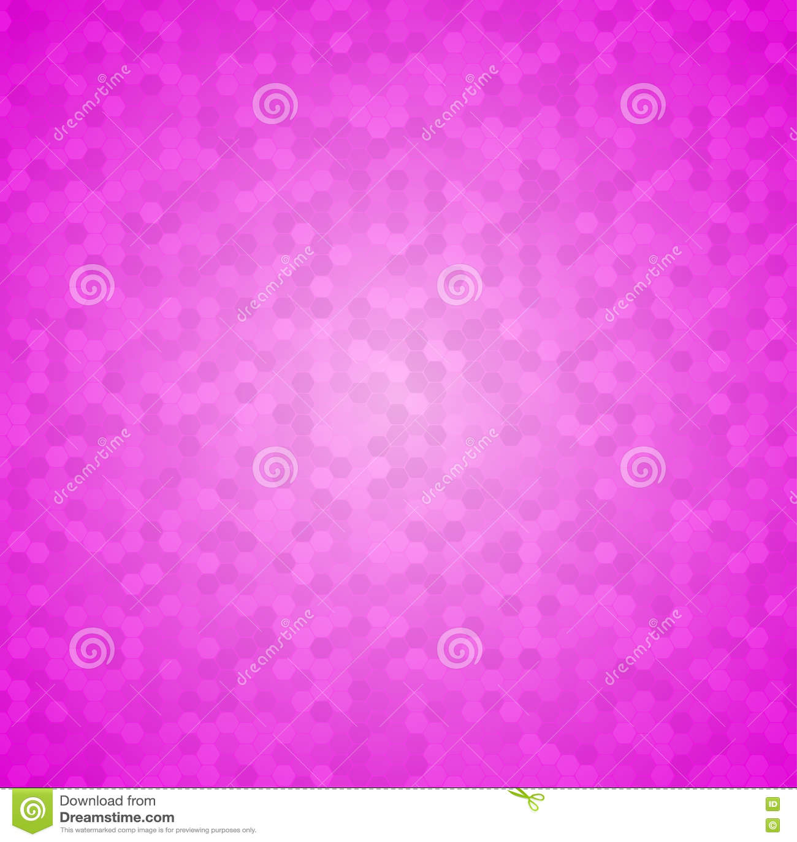 Rosa Mosaik Fliesen Bienenwaben Vektor Hintergrund Vektor Abbildung