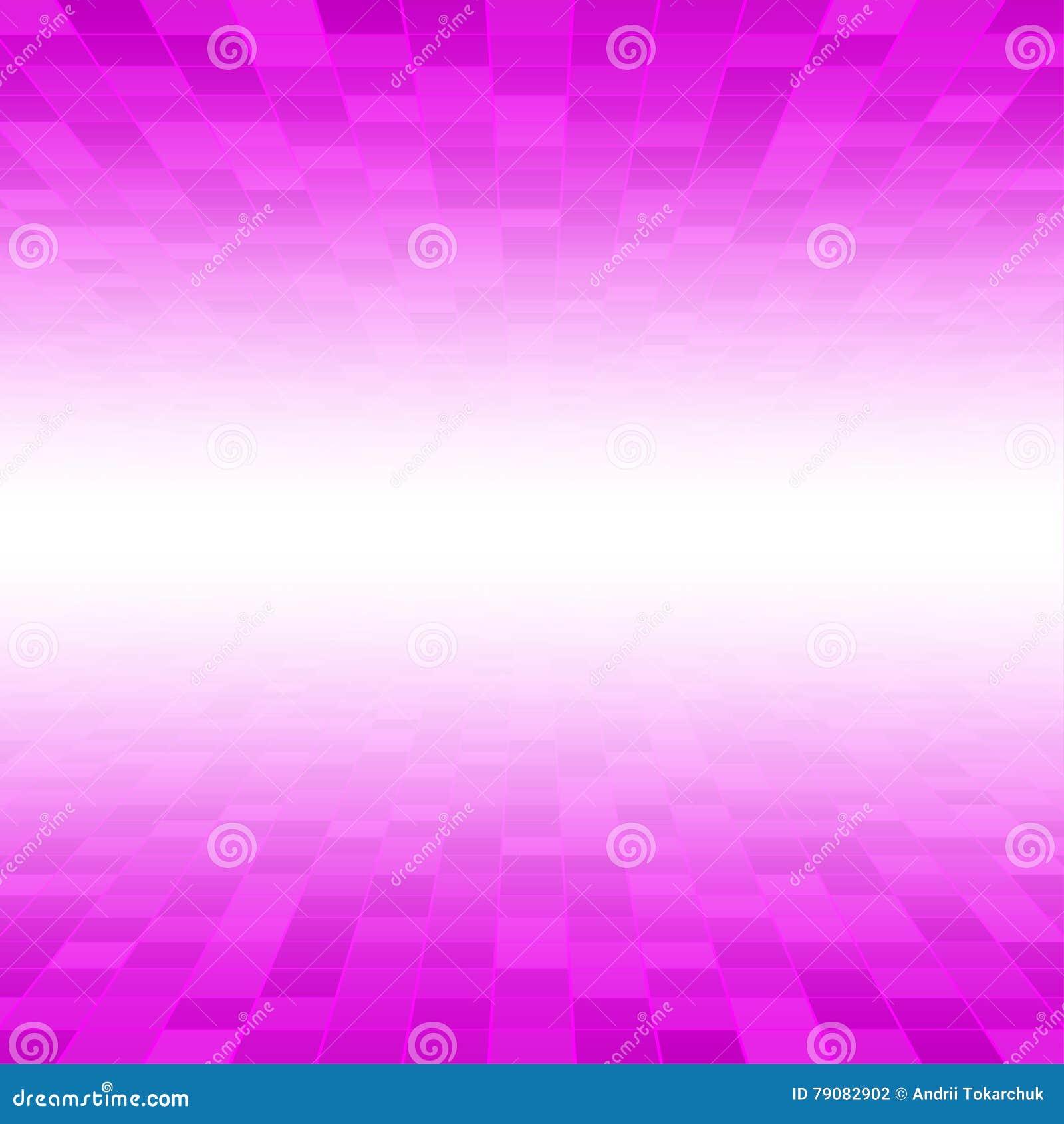 Rosa MosaikFliesenQuadratHintergrund Perspektive Vektor Abbildung - Rosa mosaik fliesen