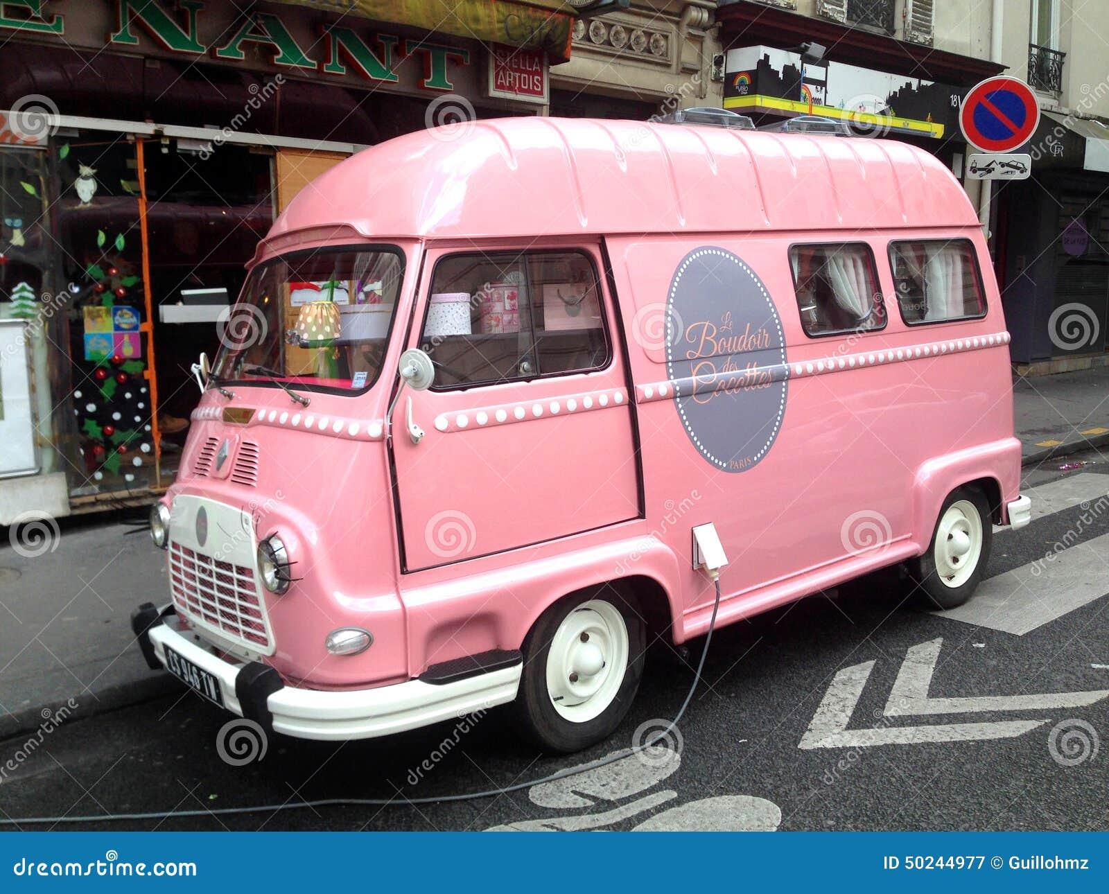 Rosa Packwagen