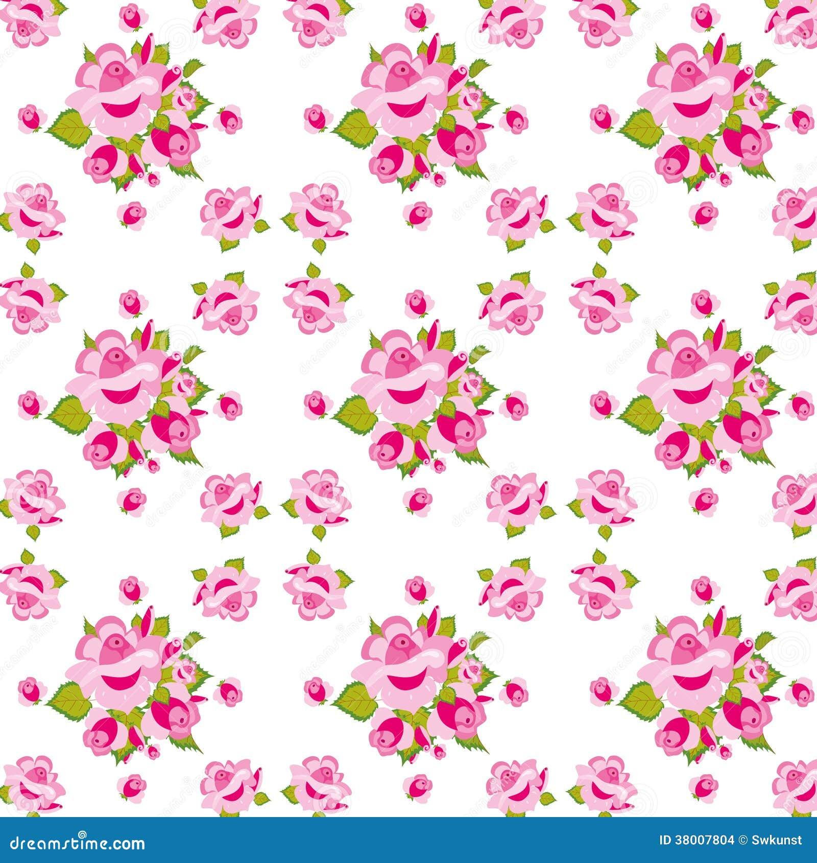 Rosa Rosenmuster. Stockbilder - Bild: 38007804