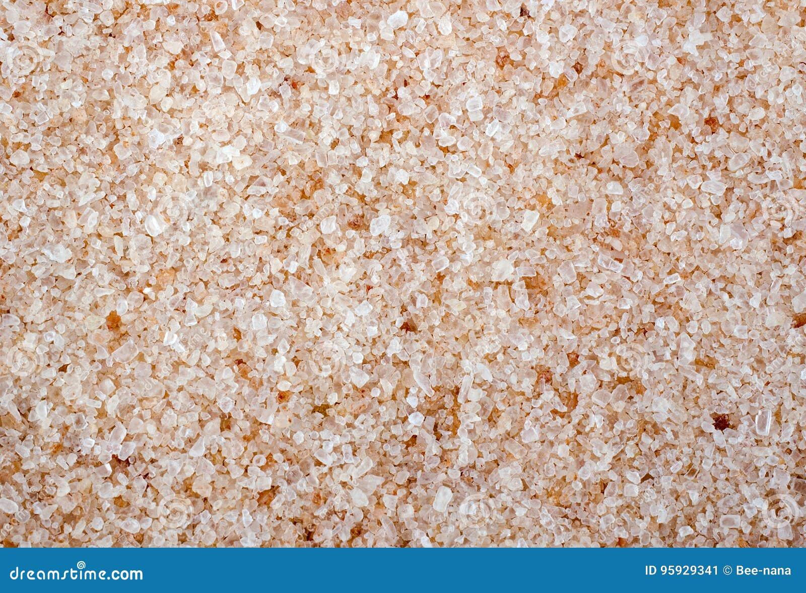 Rosa Salz-Kristall-voller Rahmen-Abschluss Oben Stockbild - Bild von ...