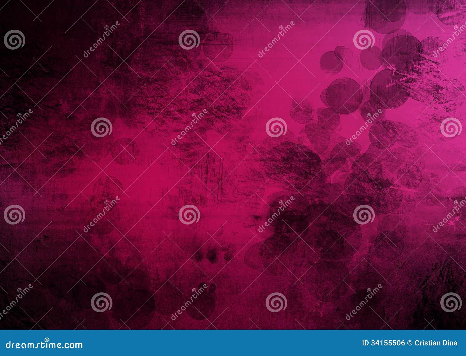 Rosa schwarzer Schmutzzusammenfassungshintergrund
