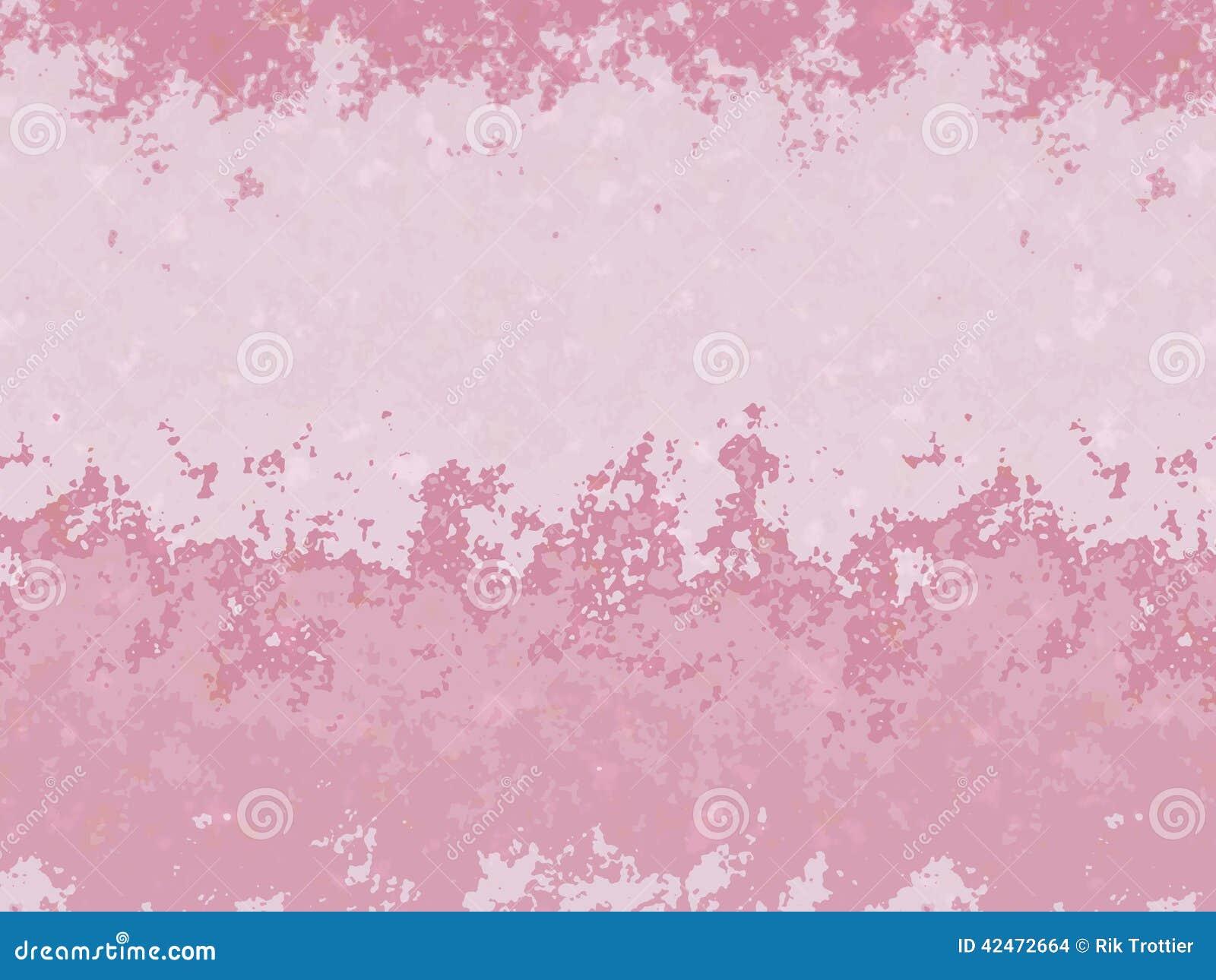 Rosa spritzt auf Sprüngen