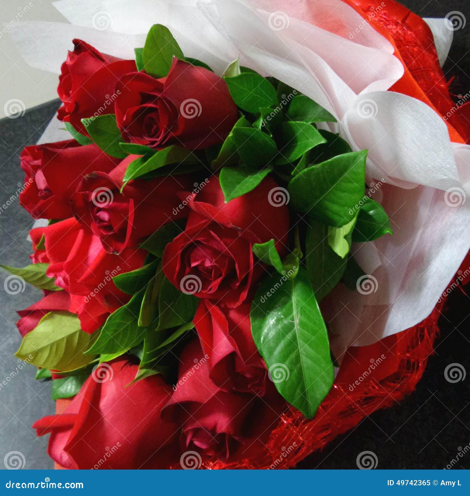 Rosafarbene Blumenstraußrosen