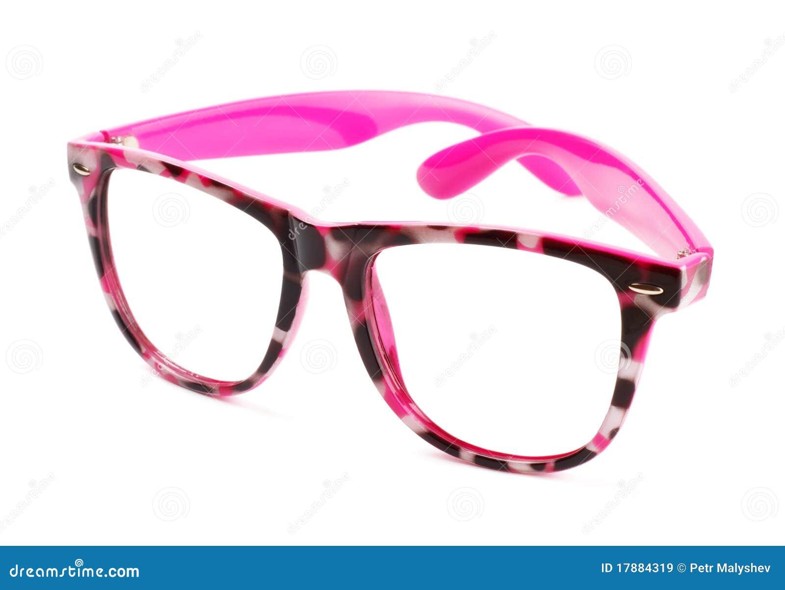 rosafarbene brillen lizenzfreie stockbilder bild 17884319. Black Bedroom Furniture Sets. Home Design Ideas