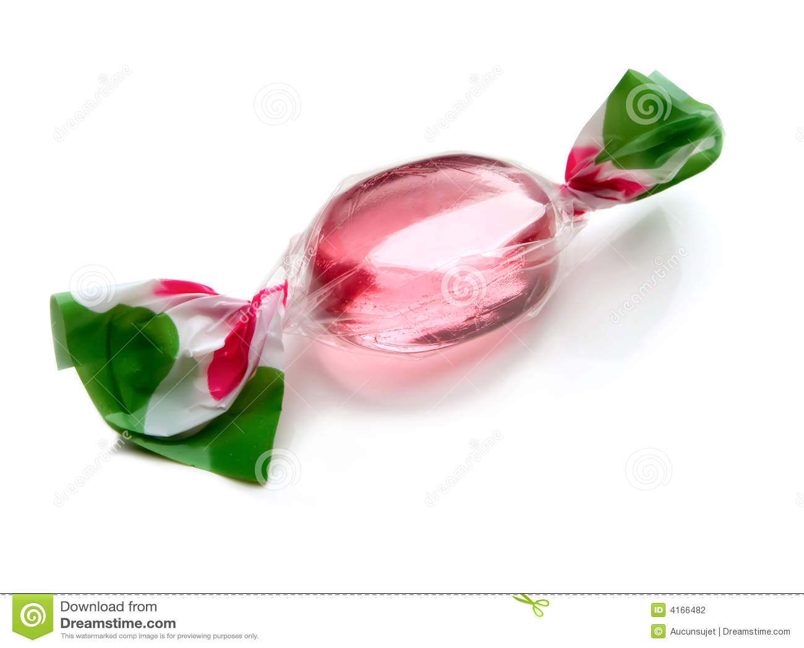 Rosafarbene Süßigkeit