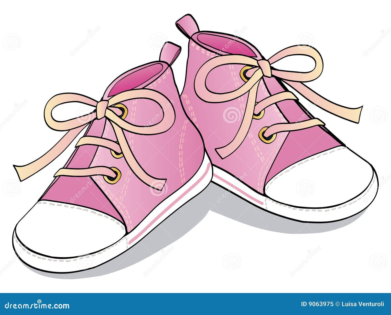 Free Walking Shoe Clipart