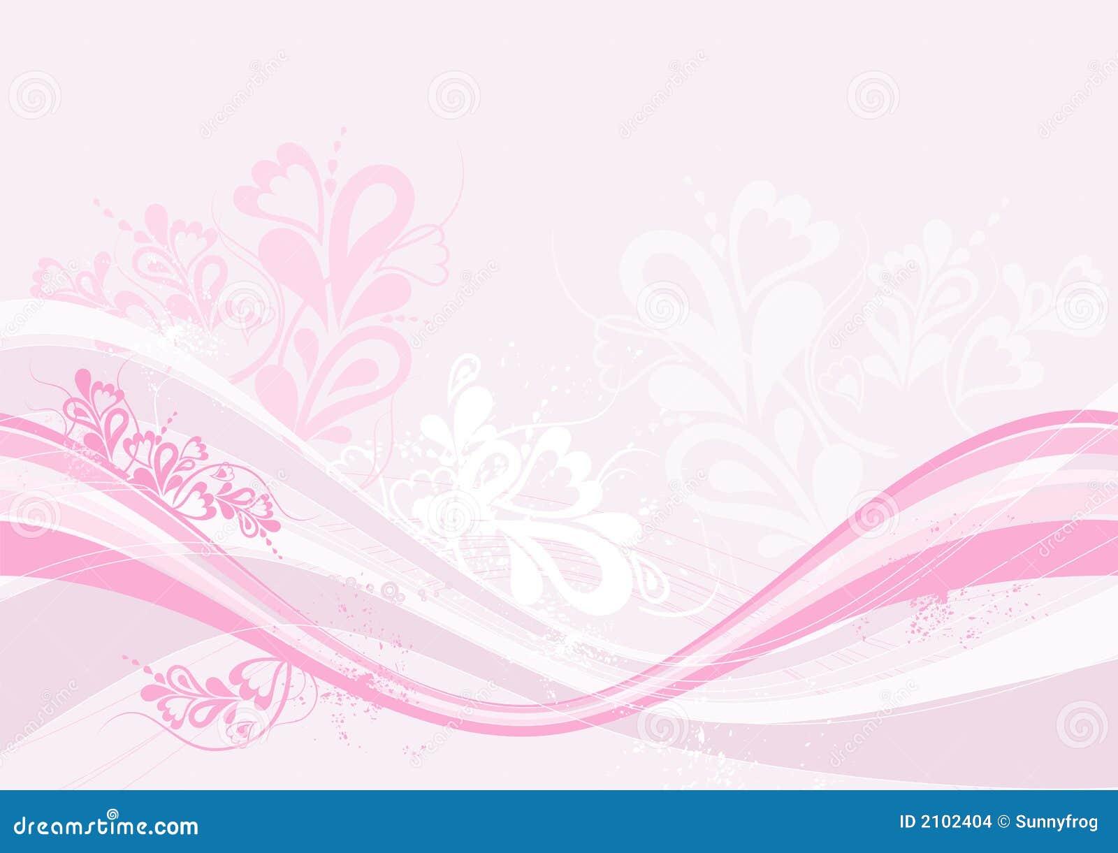 Rosafarbener Hintergrund, Vektor
