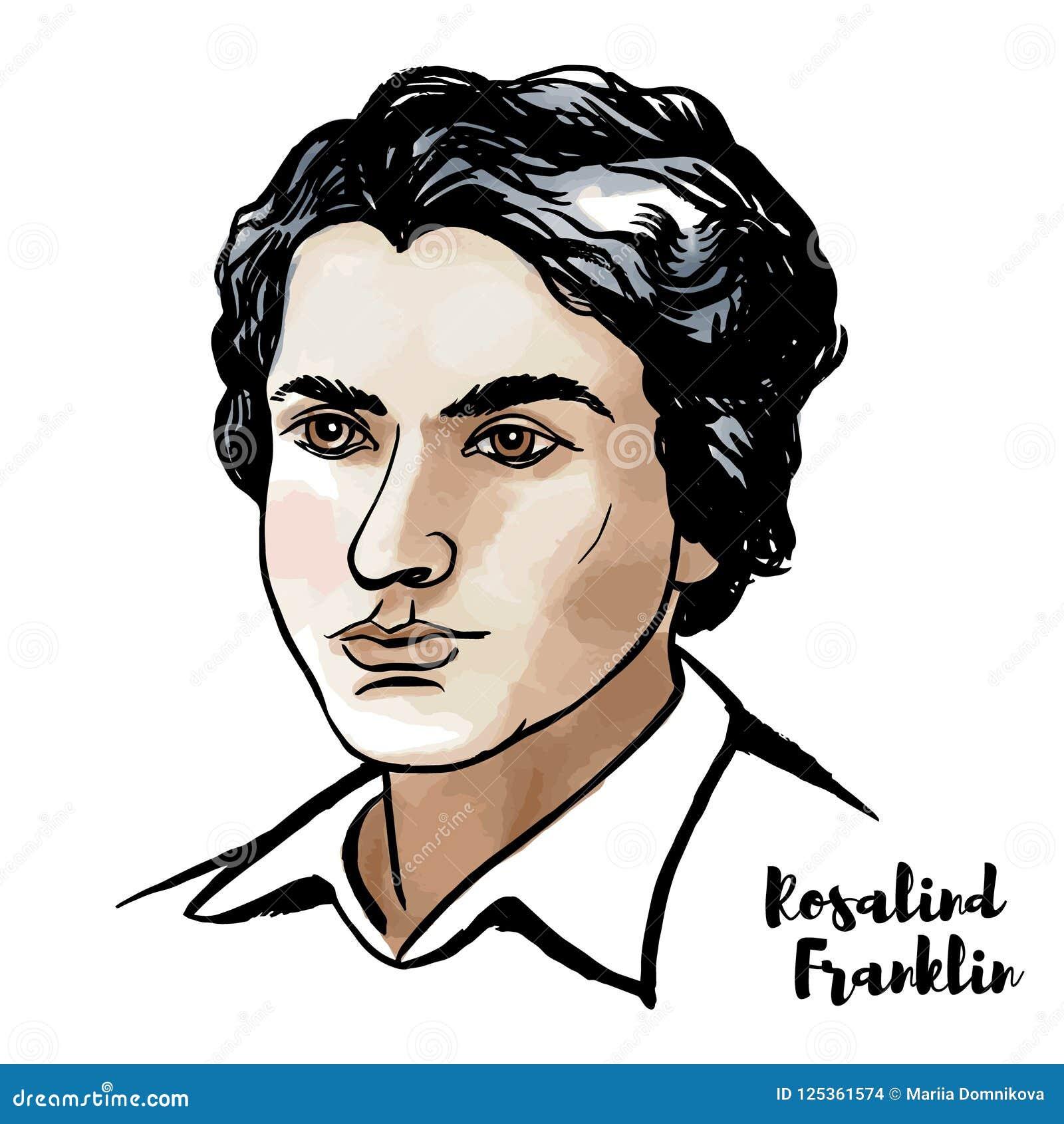 Rosalind Franklin Portrait