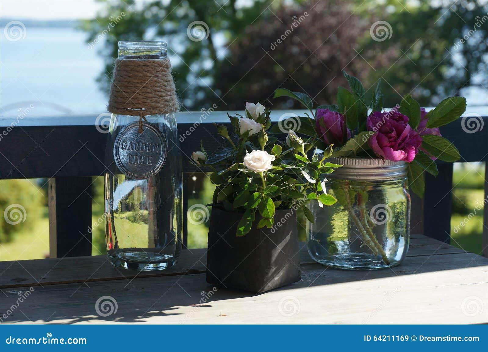 Rosas en la tabla