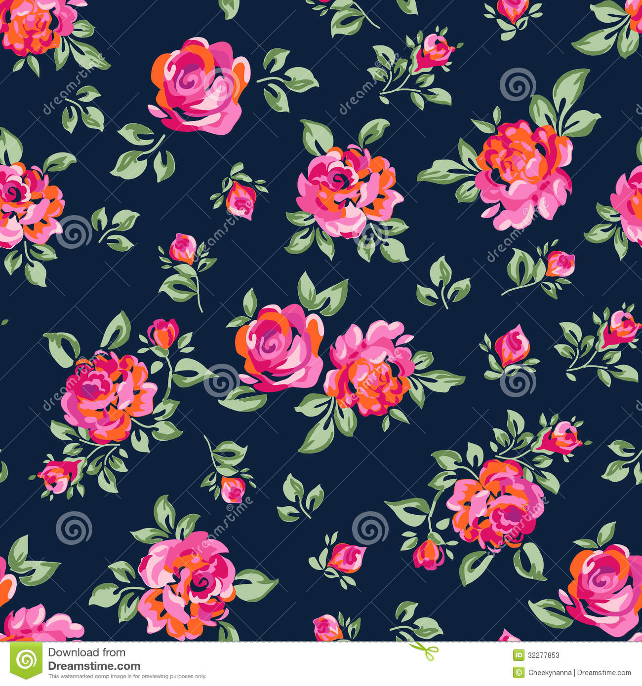 hipster flower wallpaper