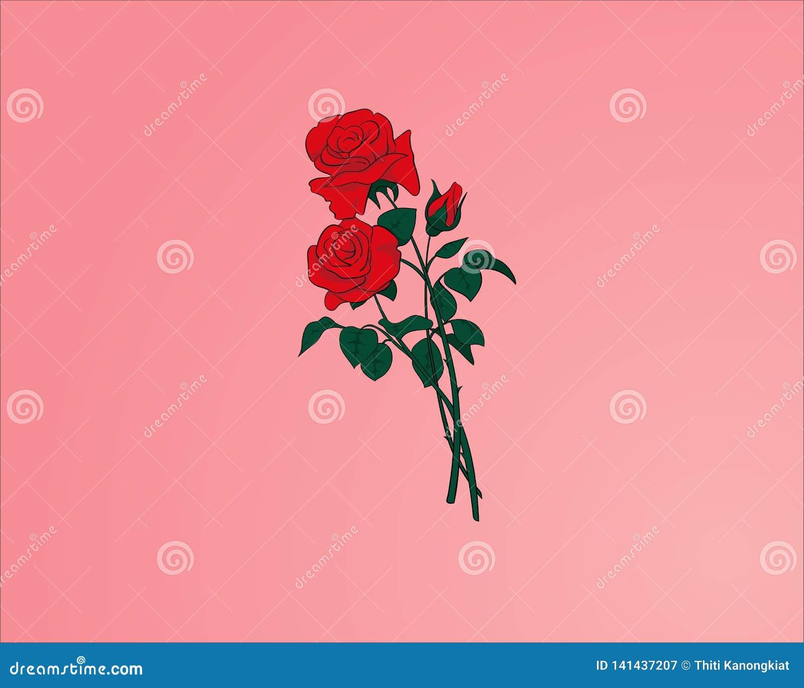 Rosas rojas - flor del amor