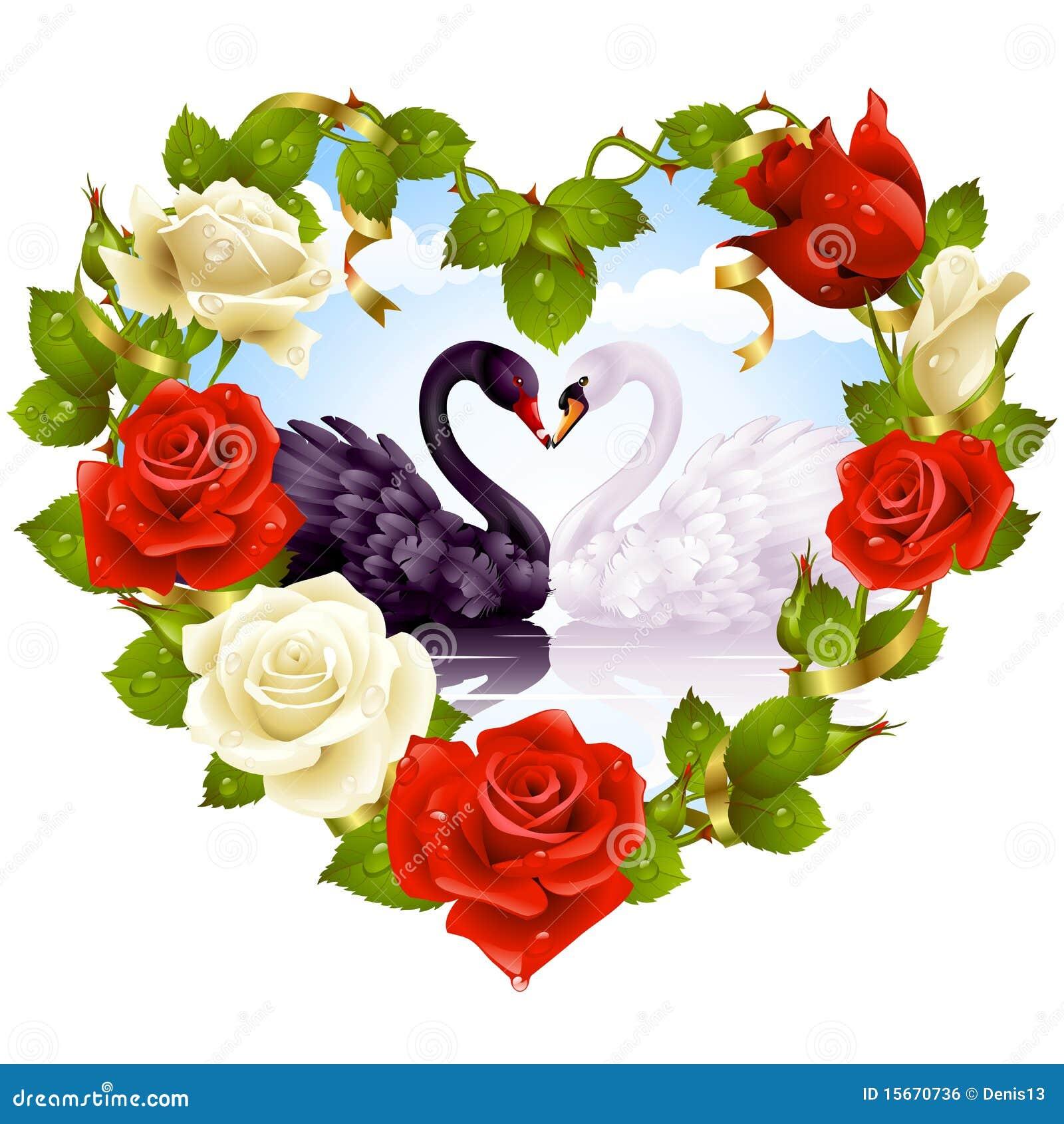 Rosas y cisnes de los pares